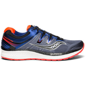 saucony Hurricane ISO 4 Chaussures running Homme, grey/blue/vizired